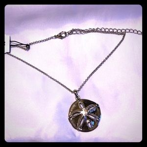 Cookie lee sand dollar necklace